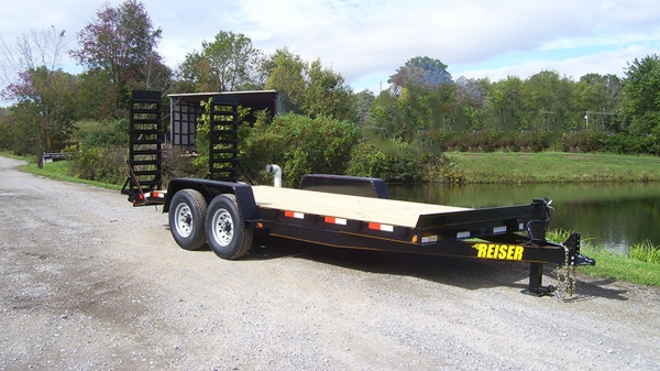 Model ET 18' 10000 GVWR Equipment Trailer