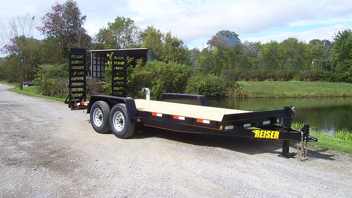 IModel ET 18' 10000 GVWR Equipment Trailer